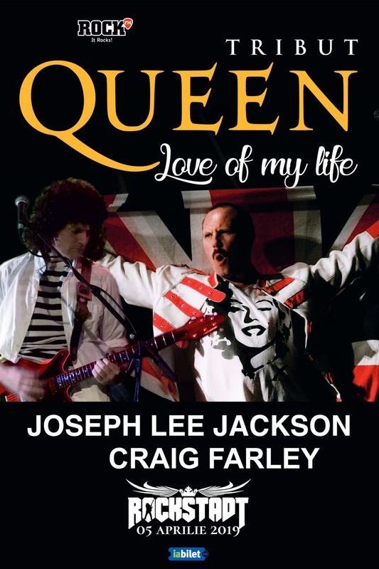 Tribut Queen ''Love of my life'' la Rockstadt