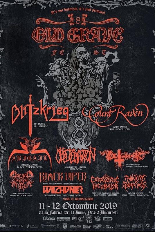Old Grave Fest 2019 la Fabrica