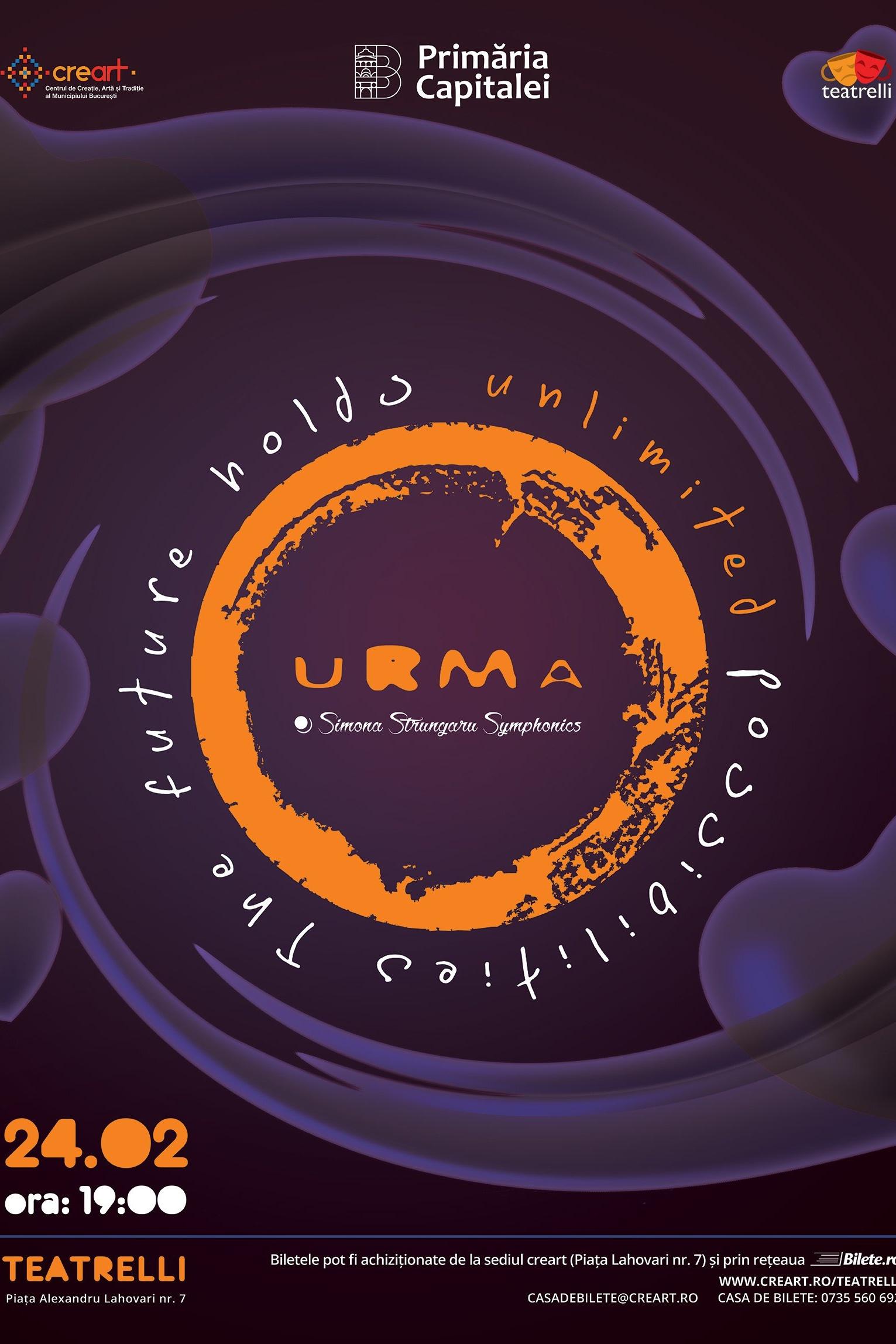 Urma & Simona Strungaru Symphonics la teatrelli - theatre, music & more
