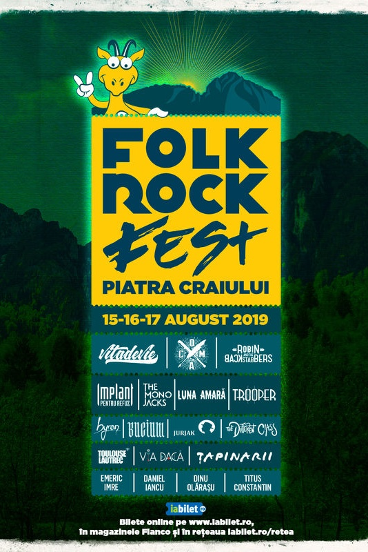 Folk Rock Fest 2019 la Parcul Național Piatra Craiului