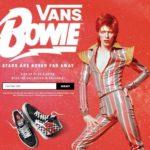 Colectie Vans David Bowie 2019 tenisi