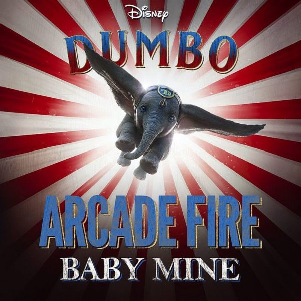 Coperta single Arcade Fire Baby Mine Dumbo