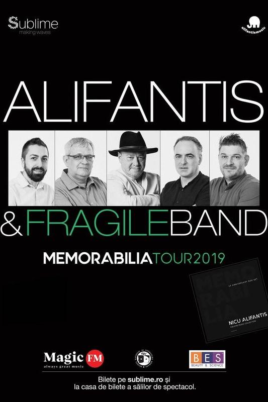 Alifantis & FragileBand - ANULAT la Casa de Cultură a Studenților din Cluj-Napoca