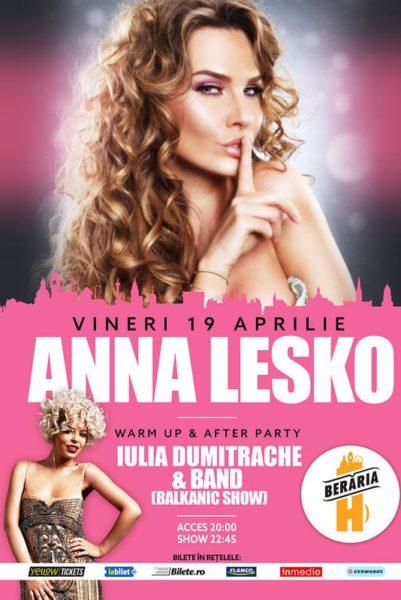 Poster eveniment Anna Lesko