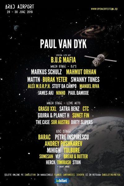 Poster eveniment Arad Open Air Festival 2019