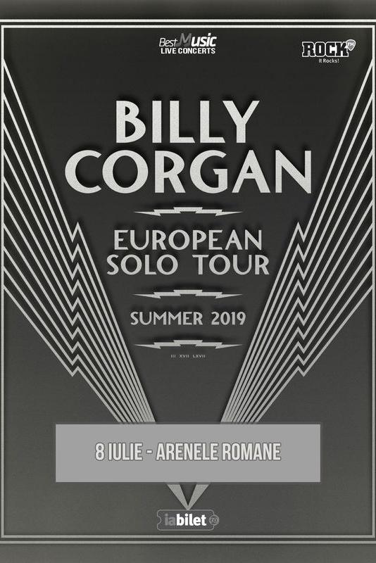 Billy Corgan (Smashing Pumpkins) la Arenele Romane