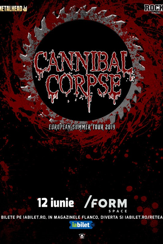 Cannibal Corpse la Form Space Club