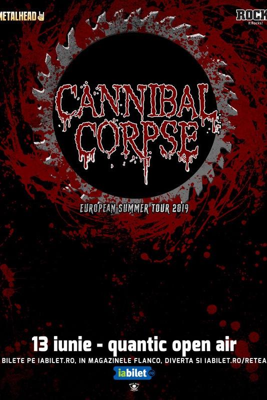 Cannibal Corpse la Quantic Club