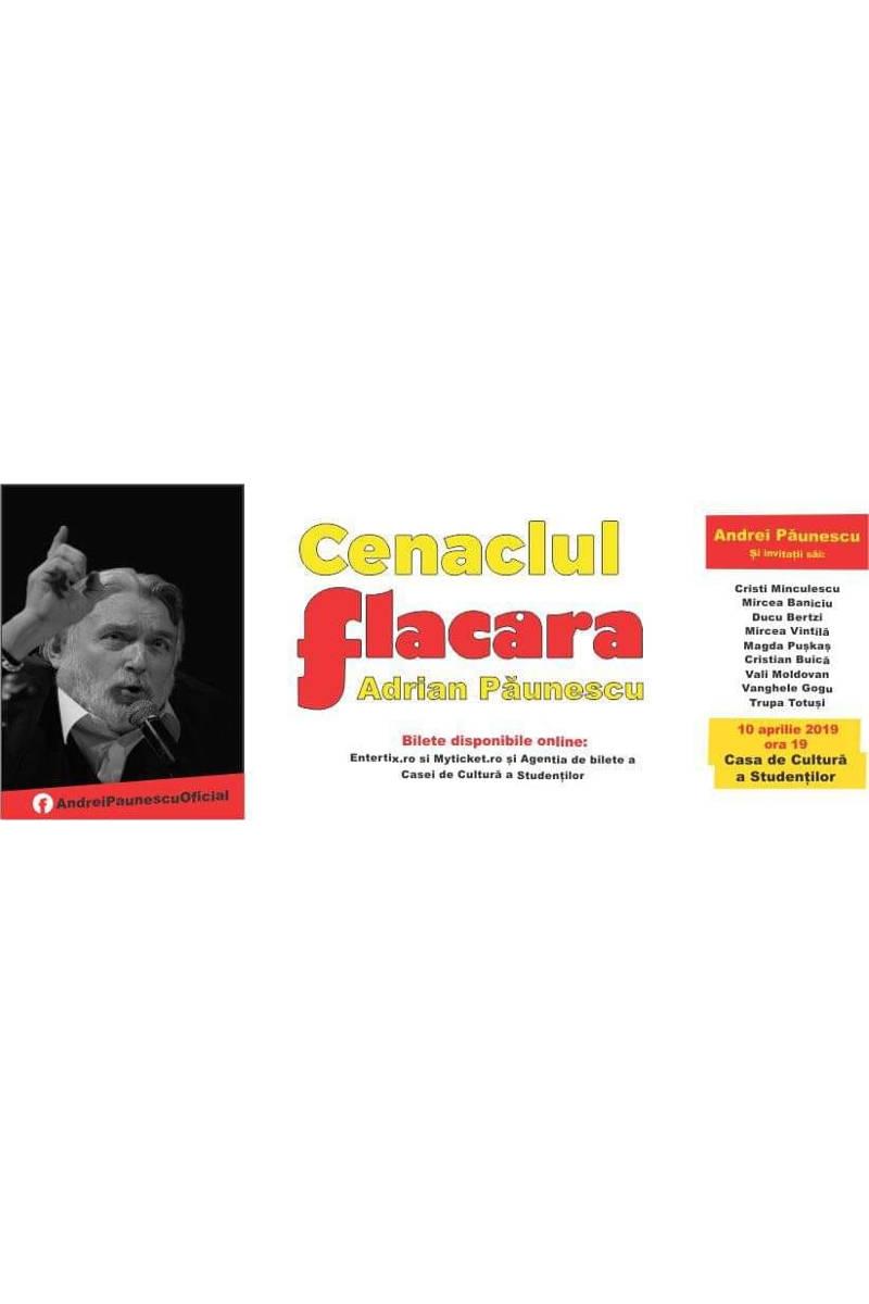 Cenaclul Flacăra - Adrian Păunescu la Casa de Cultură a Studenților din Cluj-Napoca
