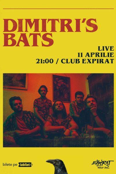 Poster eveniment Dimitri\'s Bats