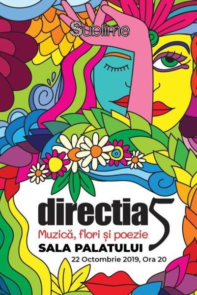Poster eveniment Direcția 5 - Muzică, Flori și Poezie