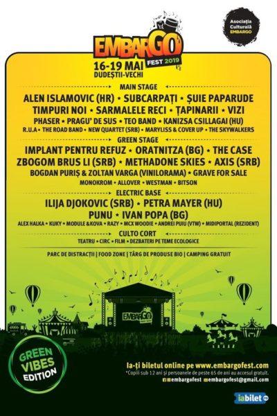 Poster eveniment Embargo Fest