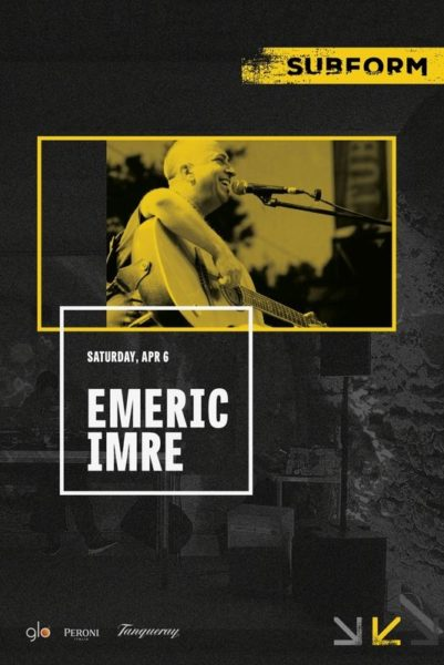 Poster eveniment Emeric Imre