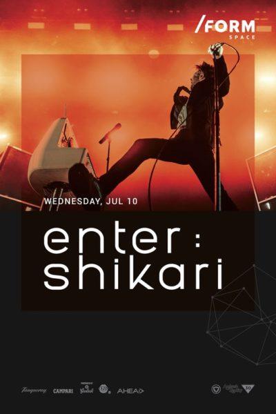 Poster eveniment Enter Shikari