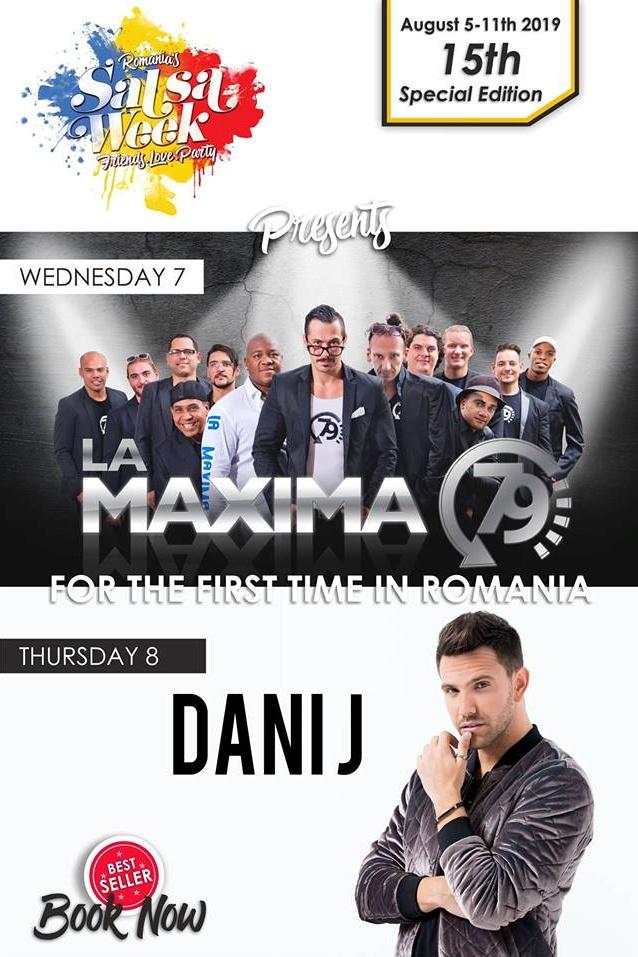 Festival România Salsa Week 2019 la Club D'or (Vama Veche)
