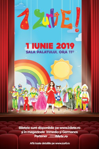 Poster eveniment Gașca Zurli - 1 ZURLI e!