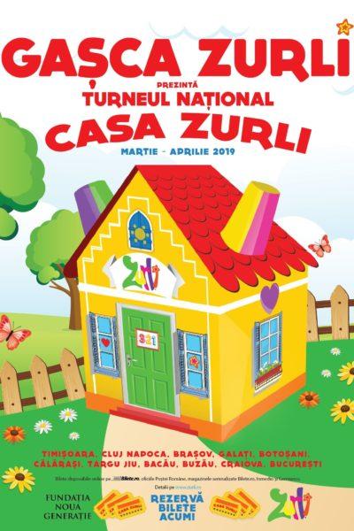 Poster eveniment Gașca Zurli - Casa Zurli