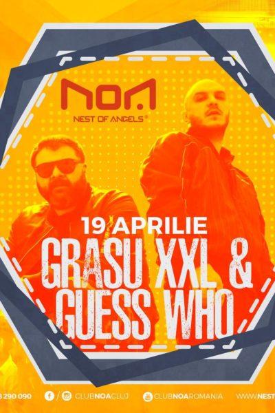 Poster eveniment Grasu XXL & Guess Who