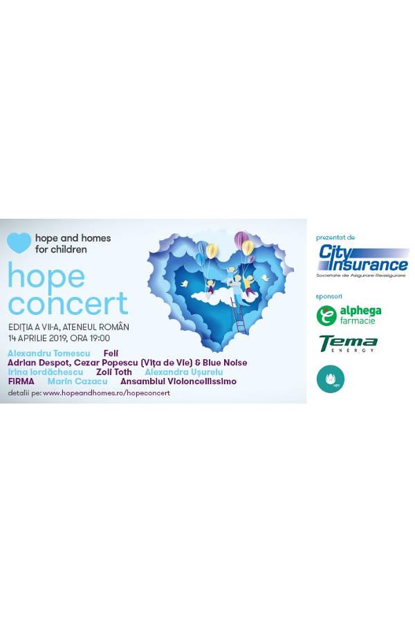 Hope Concert 2019 la Ateneul Român