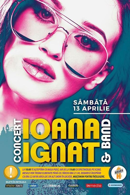Ioana Ignat la Berăria H