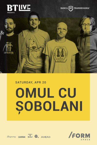 Poster eveniment Omul cu Șobolani