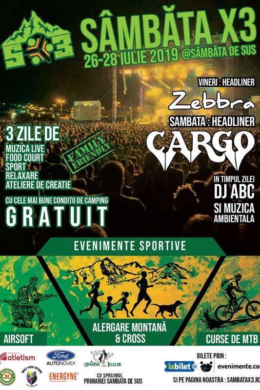 Sâmbăta X3 Festival la Grădina Ielelor (Sâmbăta de Sus)