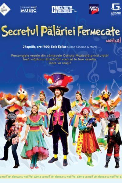 Poster eveniment Secretul Pălăriei Fermecate