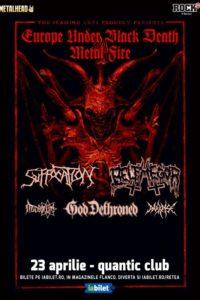 Suffocation, Belphegor & God Dethroned