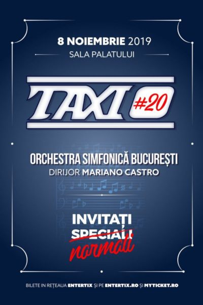 Poster eveniment TAXI #20