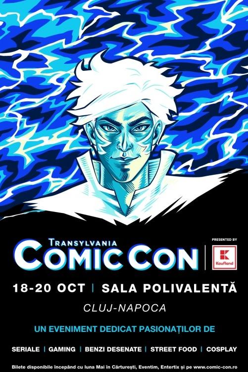 Transylvania Comic Con la BT Arena (Sala Polivalentă) Cluj-Napoca