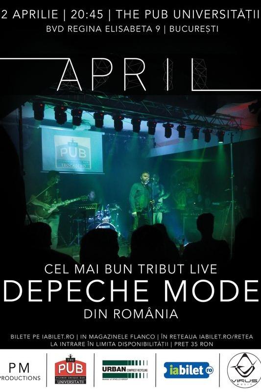 Tribut Depeche Mode la The Pub - Universității