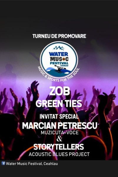 Poster eveniment Water Music Festival on tour