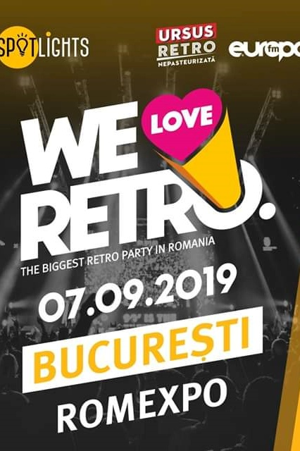 We Love Retro 2019 București la Romexpo