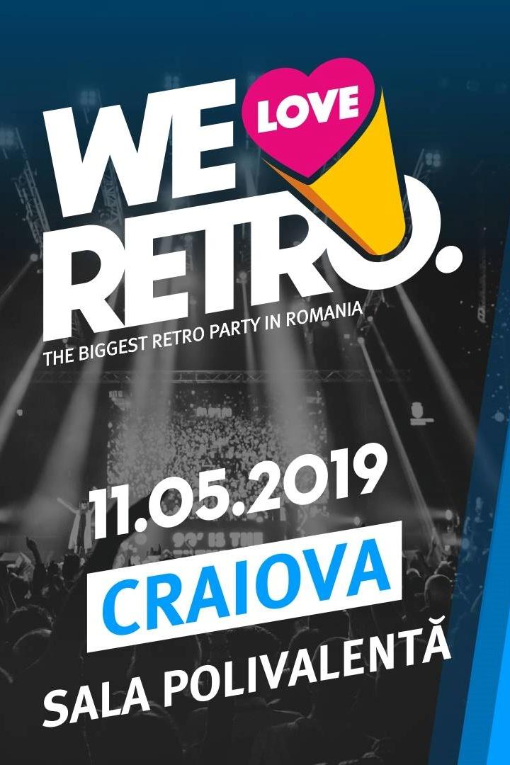 We Love Retro Craiova la Sala Polivalentă Craiova