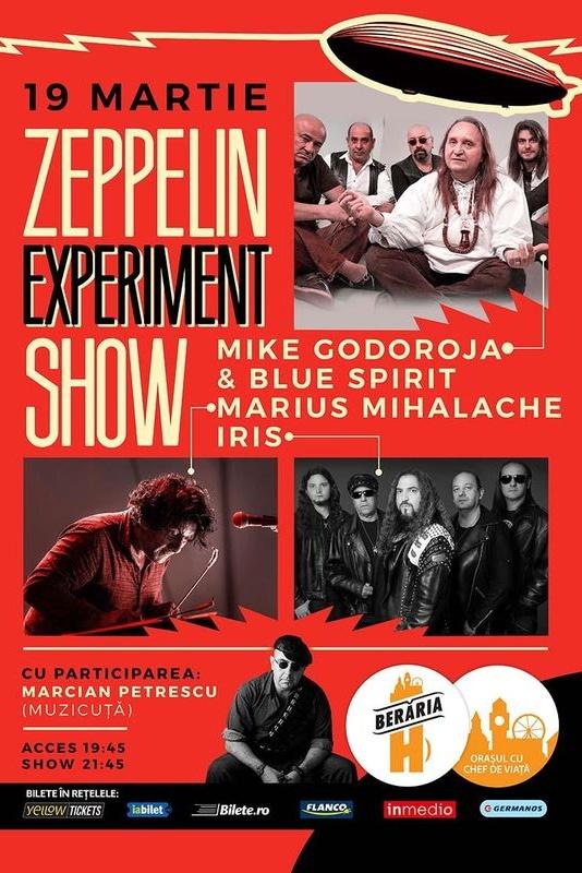 Zeppelin Experiment Show la Berăria H