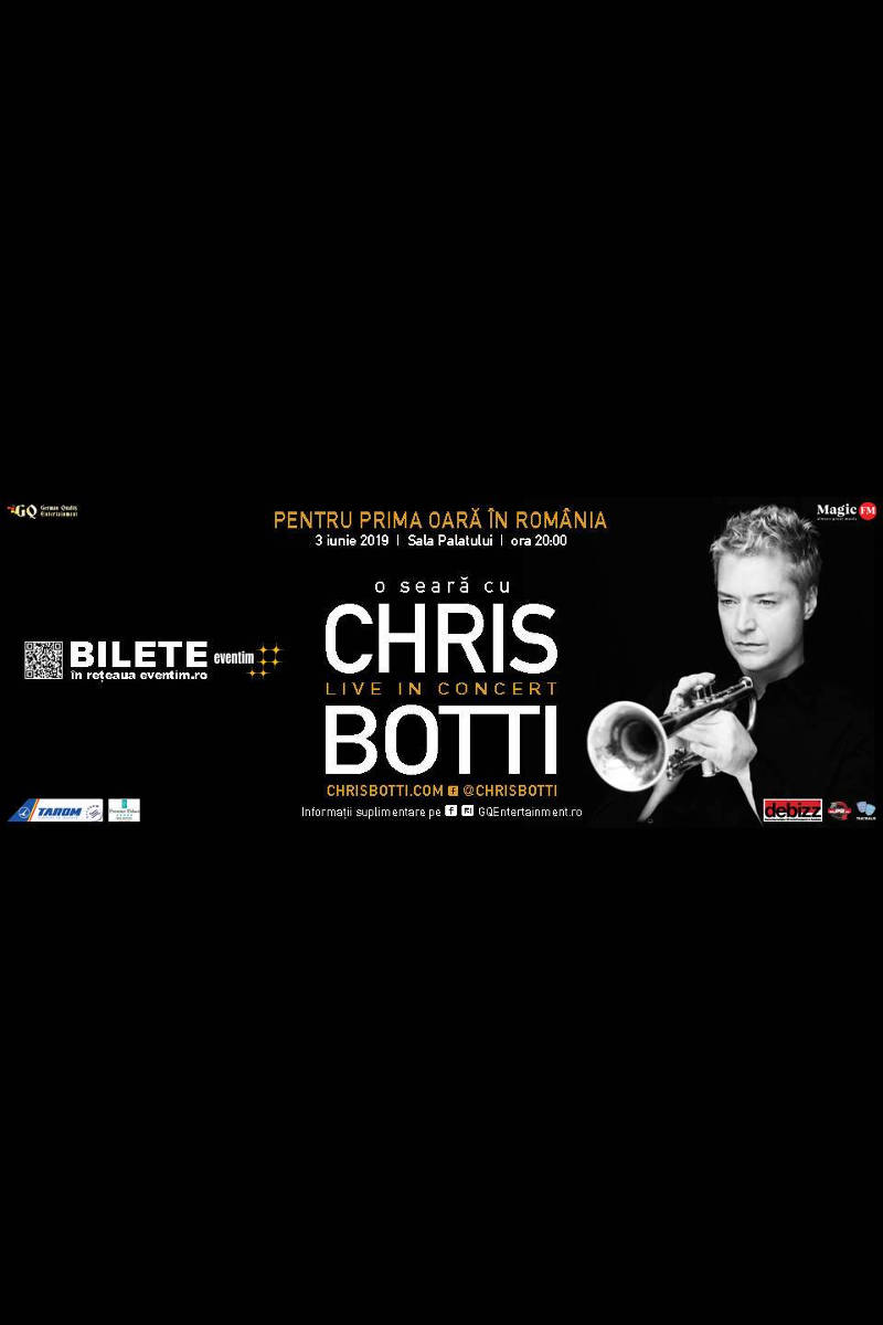 Chris Botti la Sala Palatului