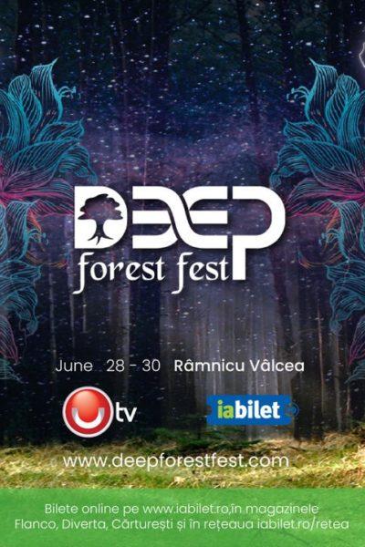 Poster eveniment Deep Forest Fest 2019