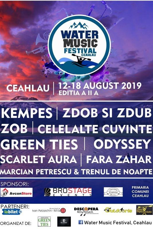 Water Music Festival 2019 la Lacul Izvorul Muntelui