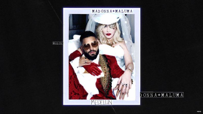 Coperta Single Madonna Maluma Medellin