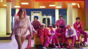 Halsey BTS Boy With Luv