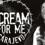 Scream for Me Sarajevo concert Bruce Dickinson poster