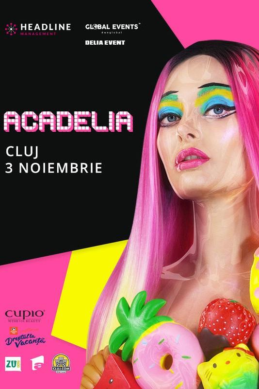 Acadelia la BT Arena (Sala Polivalentă) Cluj-Napoca