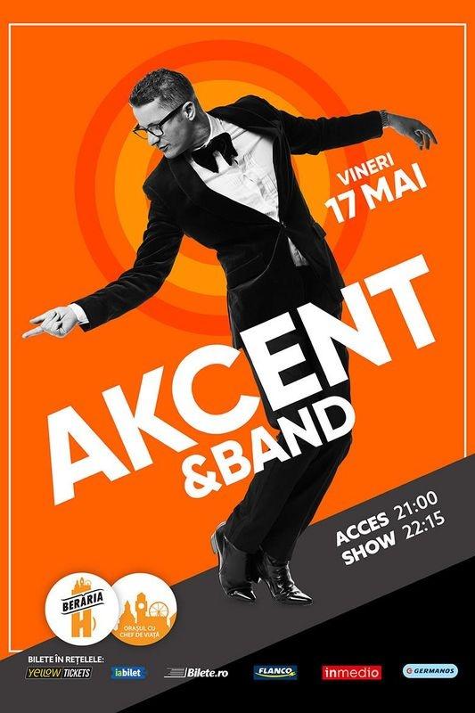 Akcent & Band la Berăria H