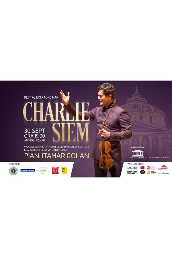Charlie Siem la Ateneul Român