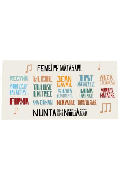 Poster eveniment Femei pe Mătăsari 2019