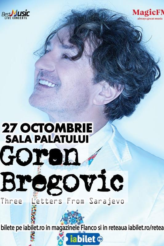 Goran Bregović la Sala Palatului