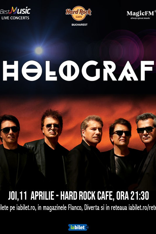 Holograf la Hard Rock Cafe