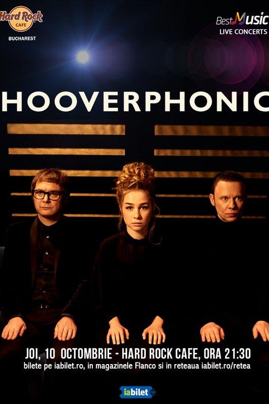 Hooverphonic la Hard Rock Cafe