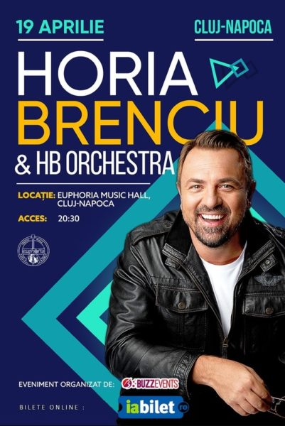 Poster eveniment Horia Brenciu & HB Orchestra