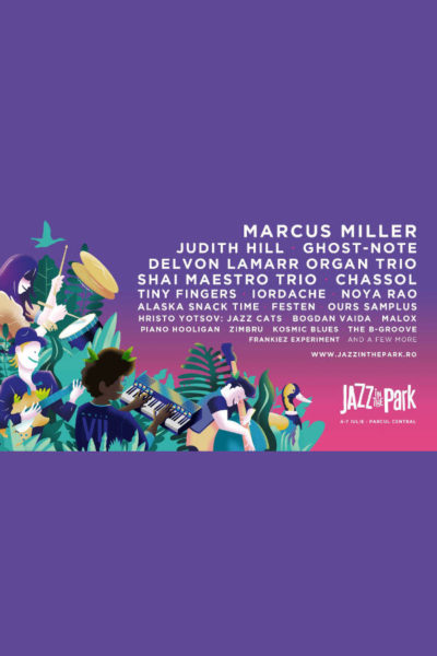 Poster eveniment Jazz in the Park 2019